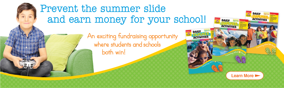 Daily Summer Activity Book Fundraising