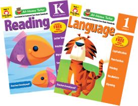 Picture of At-Home Tutor: Reading and Language, Grade K