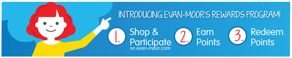 Introducing Evan-Moor's Rewards Program!