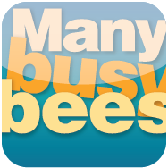 Many busy bees