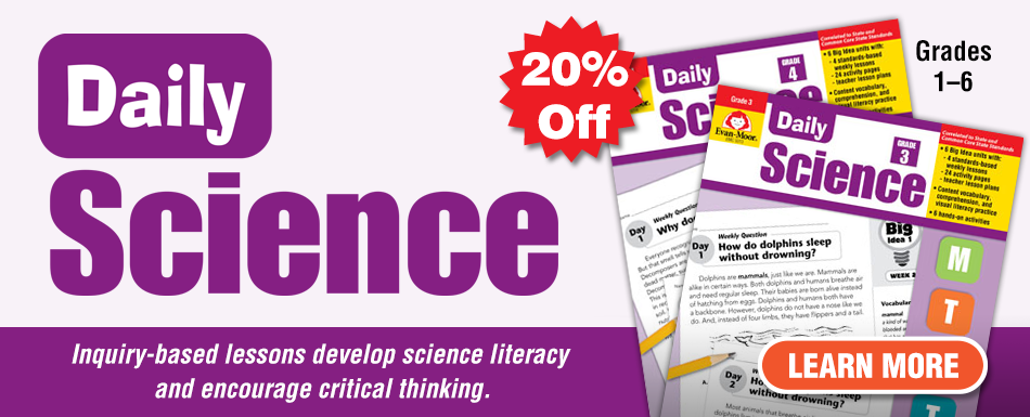 20% off Daily Science titles