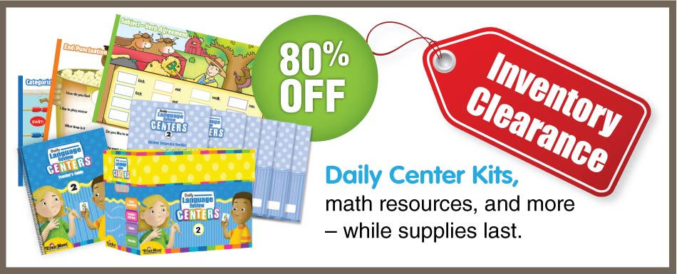 Daily Center Kits, 80% off