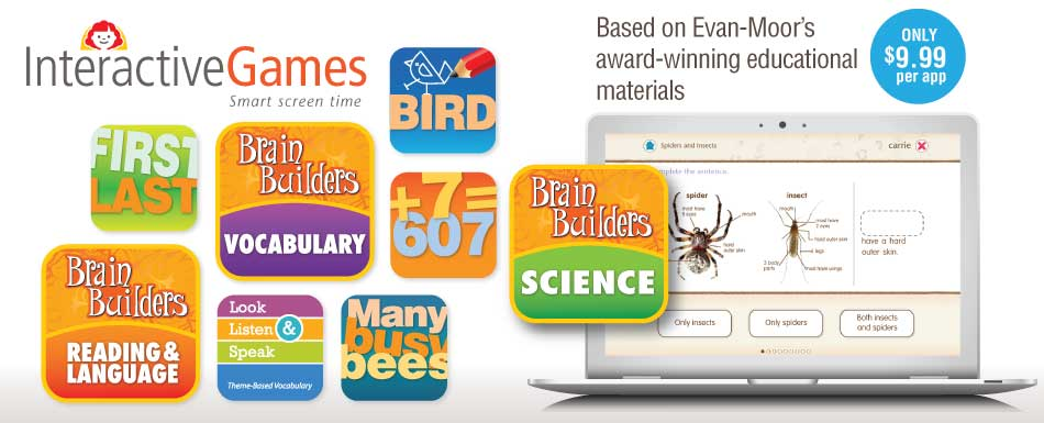 Interactive Games - Based on Evan-Moor's award-winning educational materials