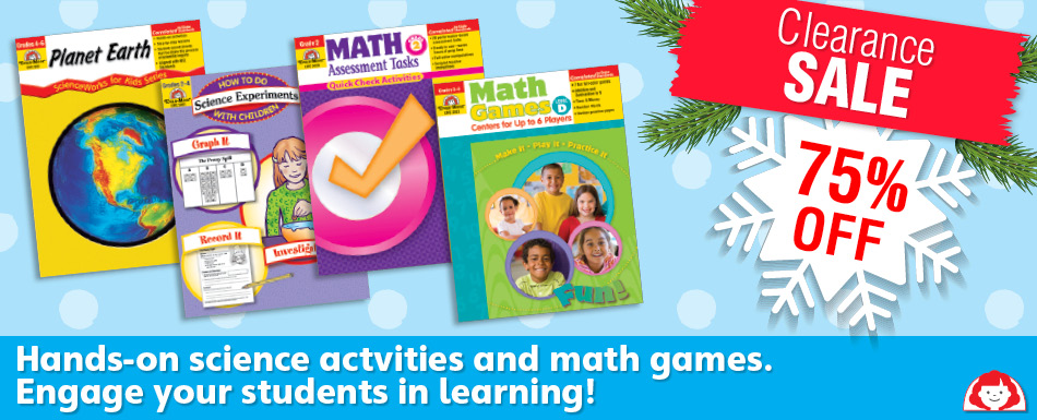 75% Off Science and Math Resources