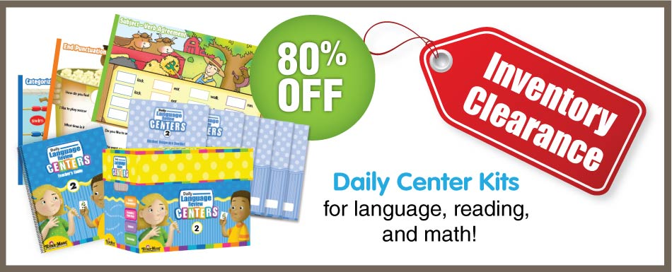 80% off Daily Center Kits