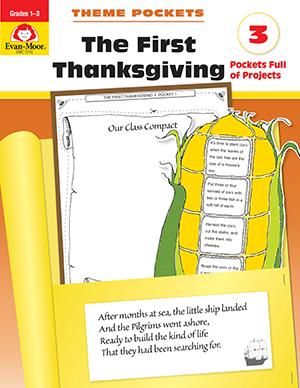 EvanMoor_Theme_Pockets_First_Thanksgiving_Grades_13__Teacher_Reproducibles_Ebook