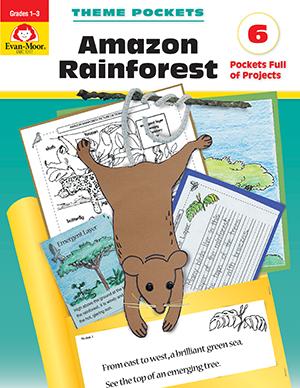 EvanMoor_Theme_Pockets_Amazon_Rainforest_Grades_13__Teacher_Reproducibles_Ebook