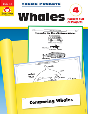 Theme Pockets: Whales, Grades 1-3 - E-book