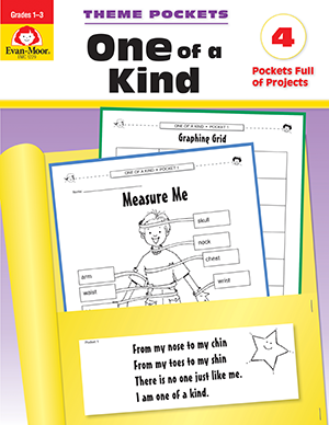 EvanMoor_Theme_Pockets_One_of_a_Kind_Grades_13__Teacher_Reproducibles_Ebook