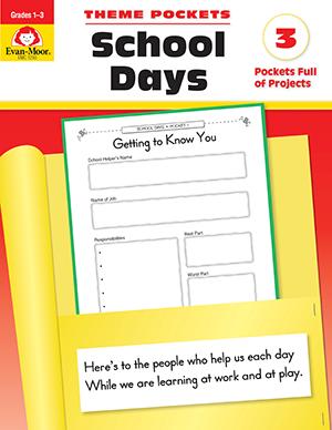 EvanMoor_Theme_Pockets_School_Days_Grades_13__Teacher_Reproducibles_Ebook