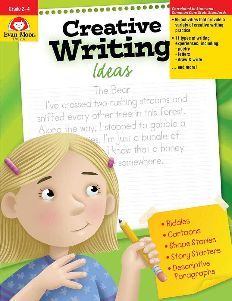 Creative Writing Ideas, Grades 2-4 - Teacher Resource Book