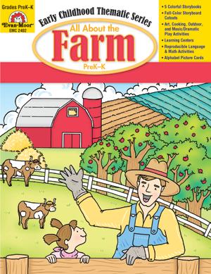 All About the Farm, Grades PreK -K - E-book