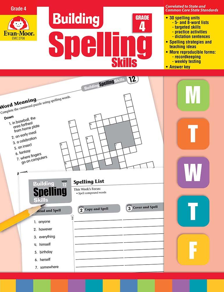 Building Spelling Skills, Grade 4 - Teacher's Edition, Print