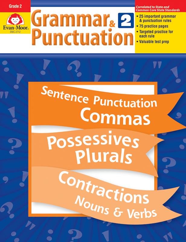 Grammar & Punctuation, Grade 2 - E-book