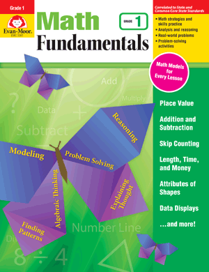 Math Fundamentals, Grade 1 - E-book