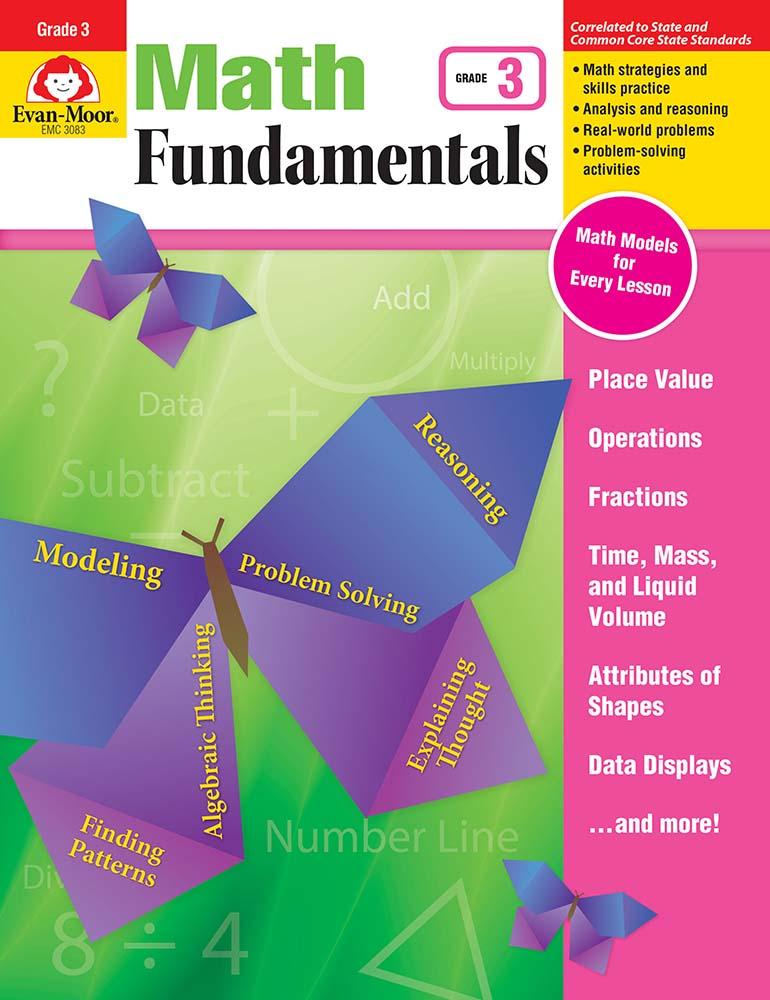 Math Fundamentals, Grade 3 - Print