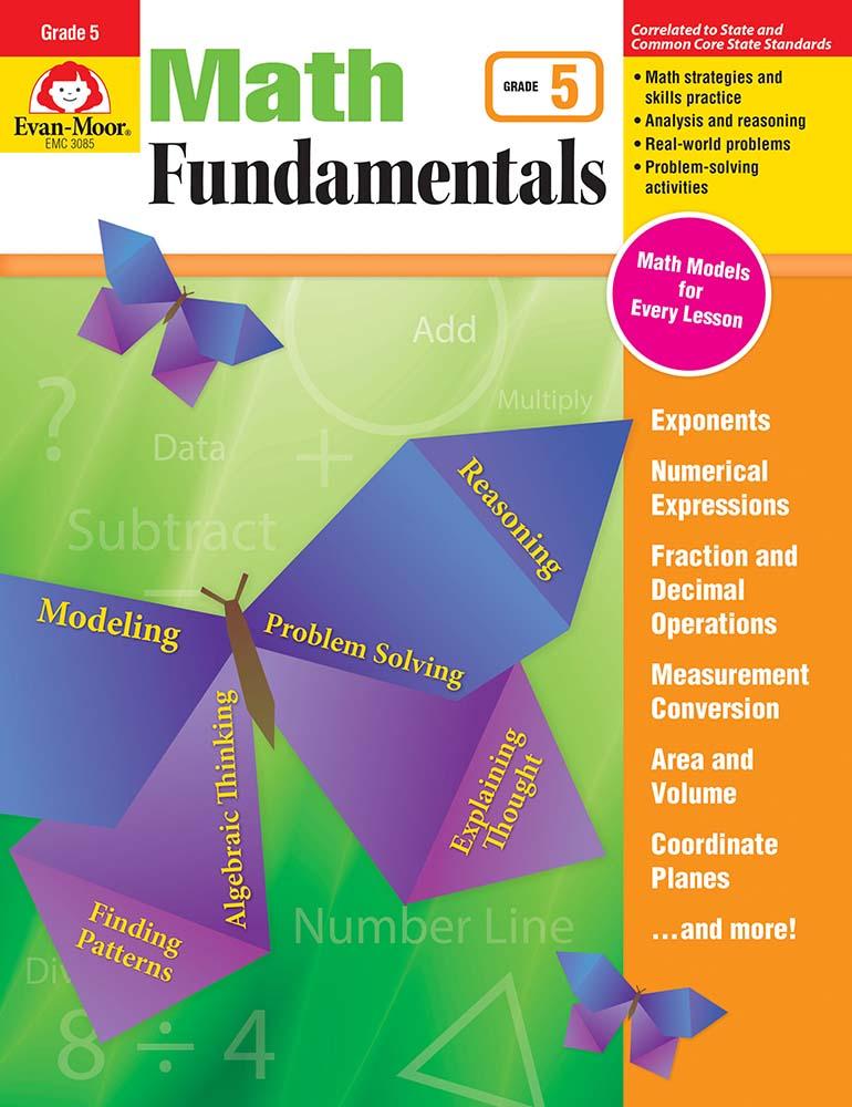 Math Fundamentals, Grade 5 - Print
