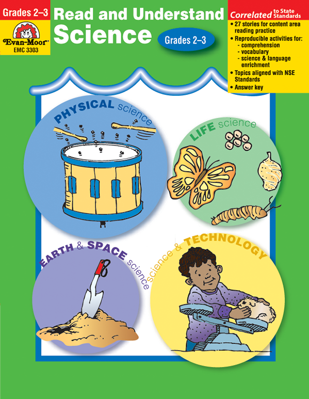 Evan-Moor Read and Understand Science, Grades 2-3 - Teacher Reproducibles, E-book