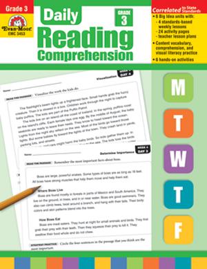 Daily Reading Comprehension, Grade 3 - Teacher's Edition, Print