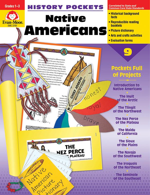 History Pockets: Native Americans, Grades 1-3 - E-book
