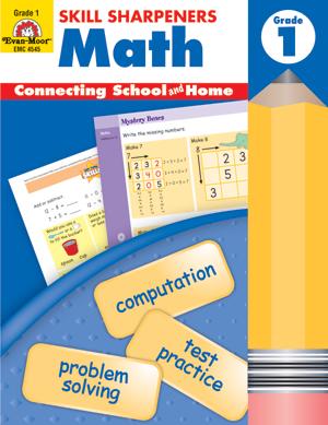 Skill Sharpeners: Math, Grade 1 - Activity Book