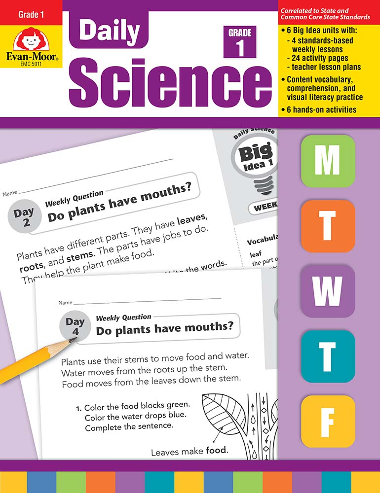 Daily Science, Grade 1 - Teacher's Edition, Print