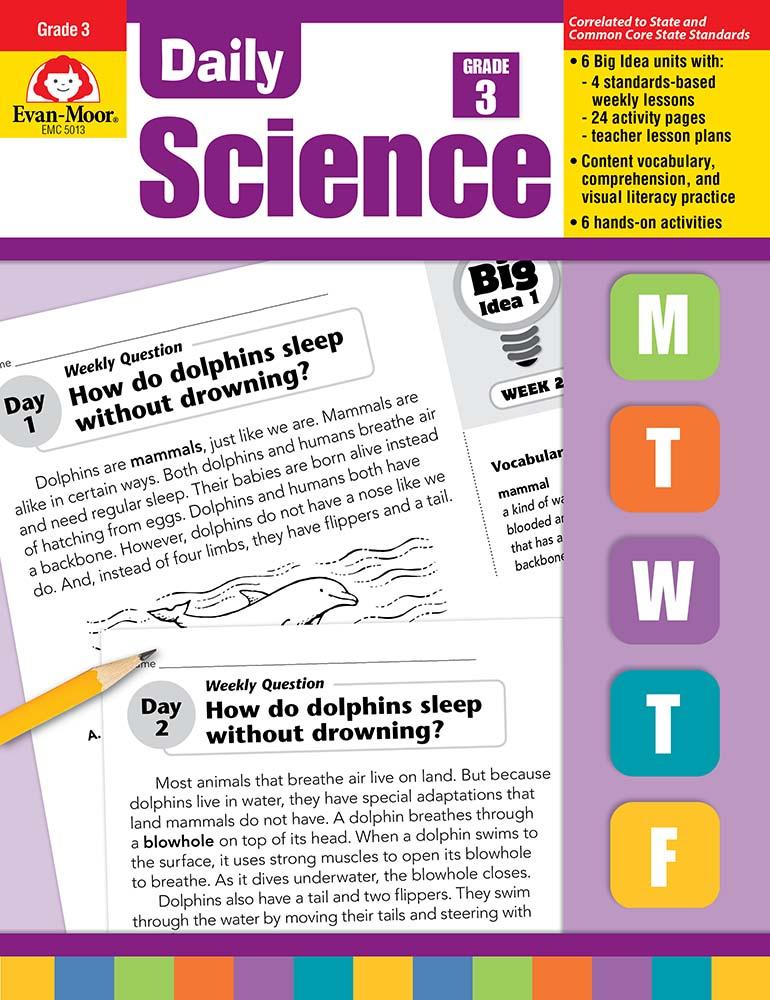 Daily Science, Grade 3 - Teacher's Edition, Print