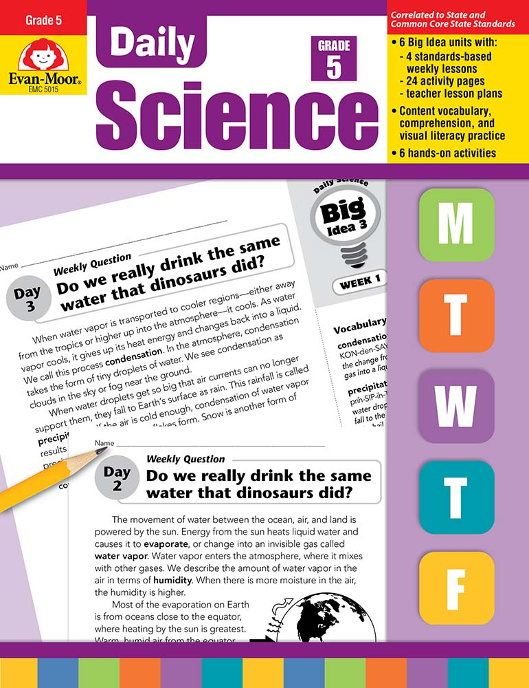 Daily Science, Grade 5 - Teacher's Edition, Print
