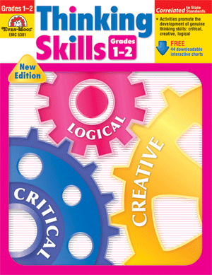 Thinking Skills, Grades 1-2 - Teacher Resource Book - Print
