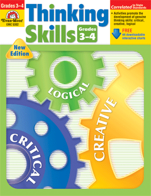 Thinking Skills, Grades 3-4 - Teacher Resource Book - Print