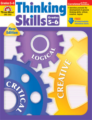 Thinking Skills, Grades 5-6 - Teacher Resource Book - Print