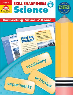 Skill Sharpeners: Science, Grade 4 - Activity Book