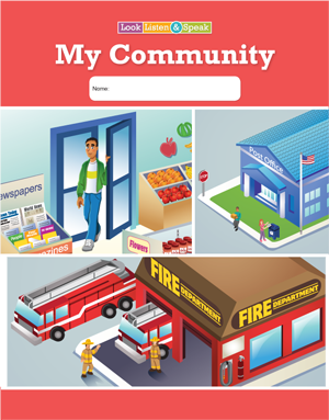 Look, Listen, & Speak: My Community - Student Book (5-Pack)