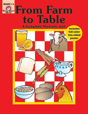 Complete Thematic Units, From Farm to Table - Reproducible Teacher's Edition: E-Book