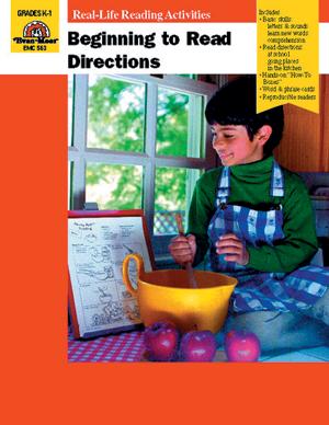 Beginning to Read Directions - Reproducible Teacher's Edition: E-Book