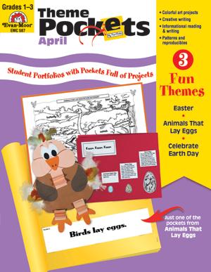Theme Pockets, April - Teacher Resource: E-book