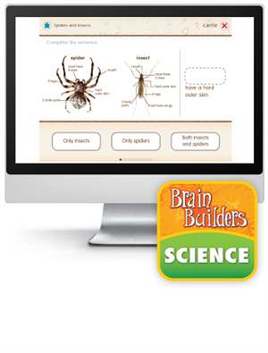Brain Builders: Science, Grades 1-2 - Interactive Learning Games