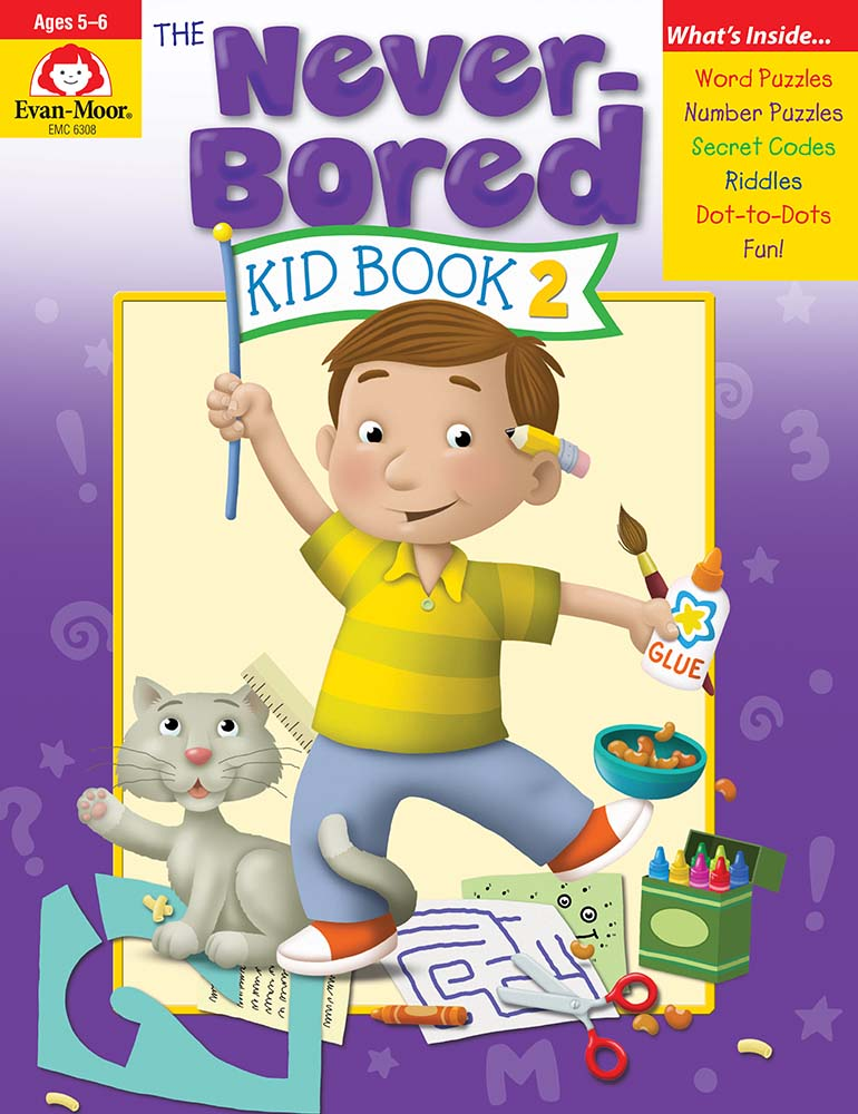 The Never-Bored Kid Book 2, Grades K-1 - Activity Book