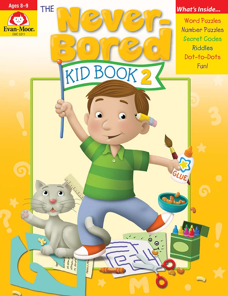 The Never-Bored Kid Book 2, Grades 3-4 - Activity Book