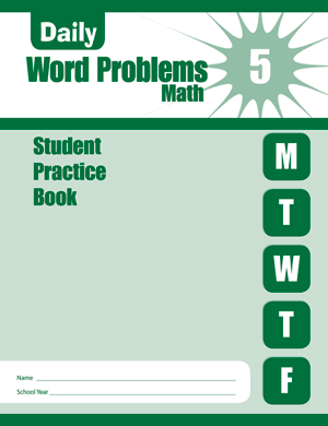 Daily Word Problems, Grade 5 - Student Book