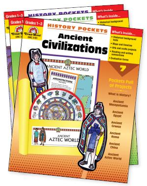 History Pockets: Primary Set, Grades 1-3