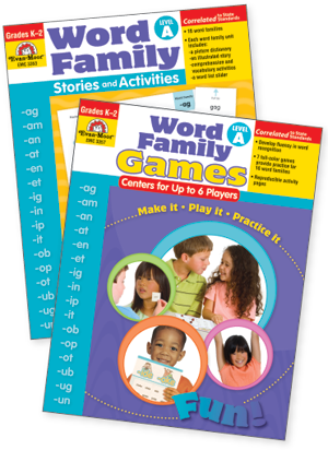 Word Family Practice Set, Level A - Easy-Order Set