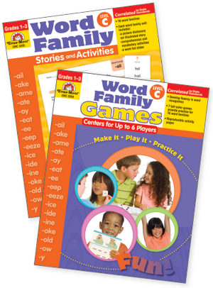 Word Family Practice Set, Level C - Easy-Order Set