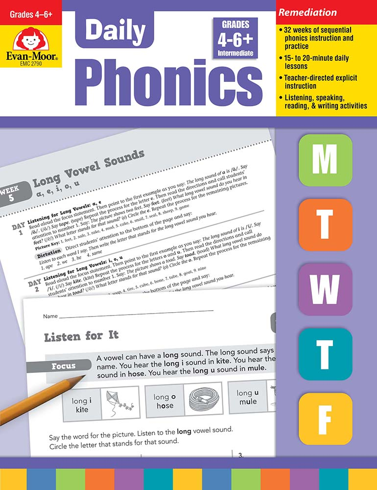 Picture of Daily Phonics, Grade 1 - Teacher's Edition