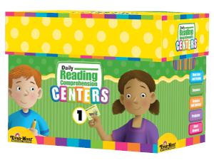 Picture of Daily Reading Comprehension Centers, Grade 1 - Classroom Resource Kit