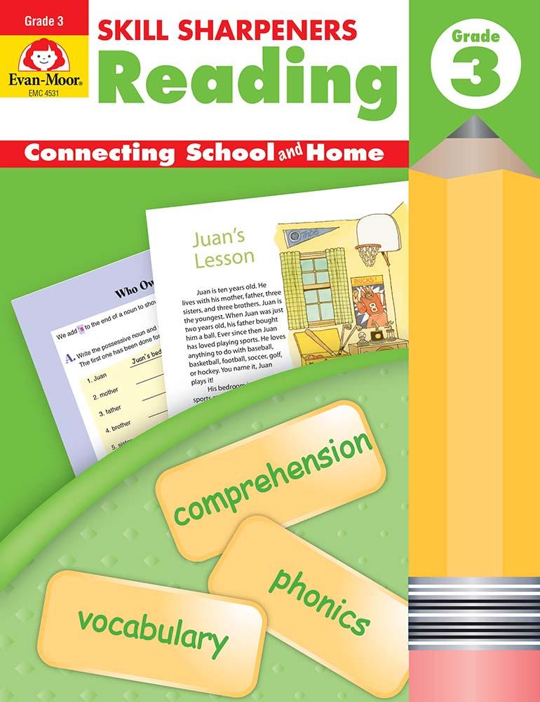 Skill Sharpeners: Reading, Grade 3