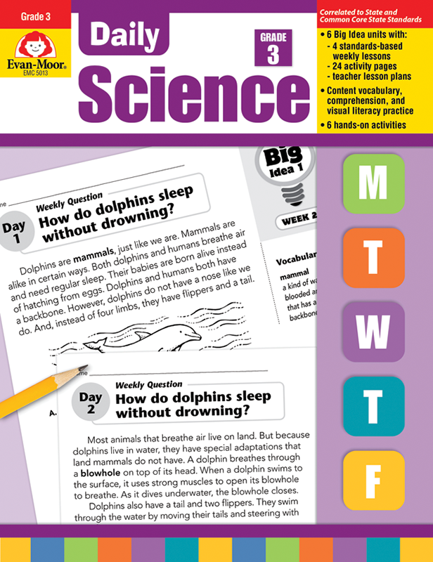 Picture of Daily Science, Grade 3 - E-book