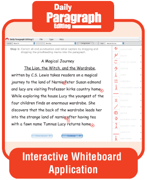 Picture of Daily Paragraph Editing, Grade 2 - Interactive Courseware