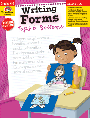 Writing Forms, Tops & Bottoms, Grades K-2