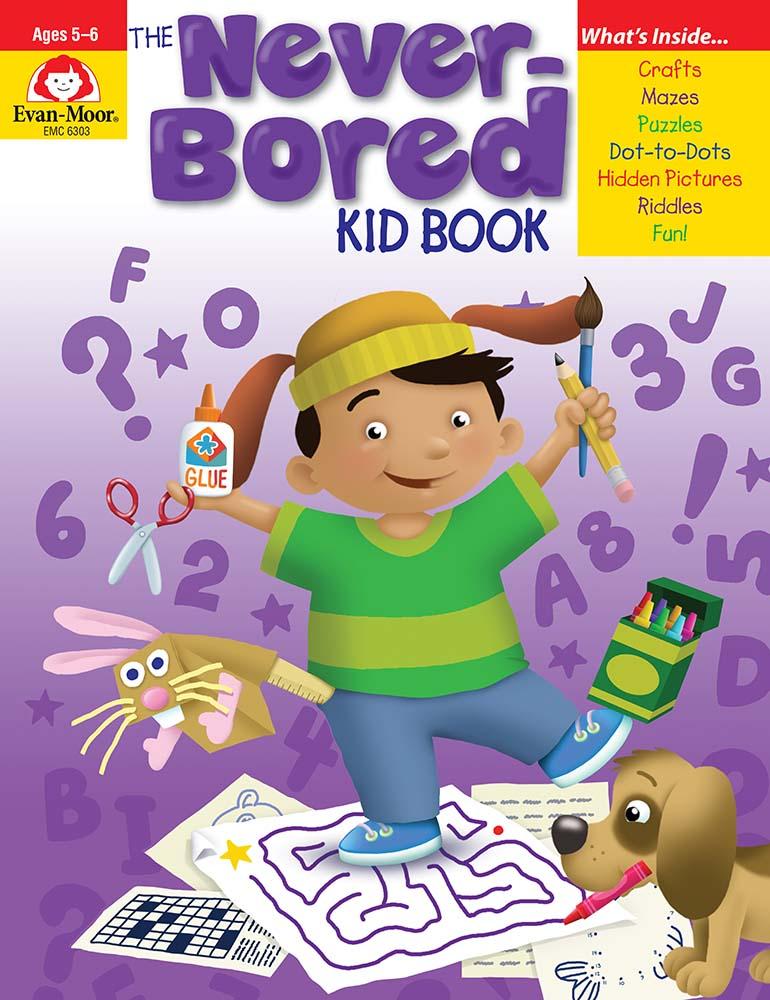 The Never-Bored Kid Book, Grades K-1